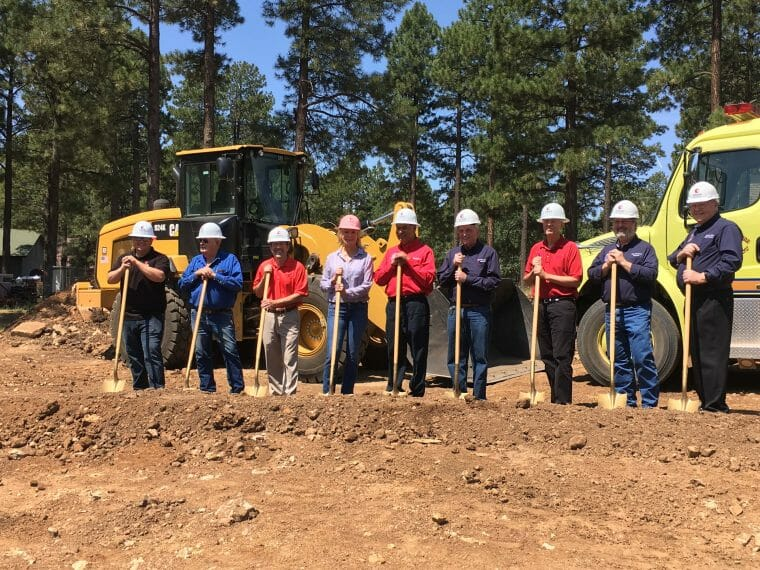Forest Lakes Fire Station Groundbreaking: 1 of 3 New Projects Breaking Ground This Week.