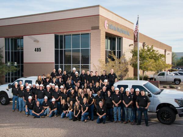 Caliente Construction Team Photo