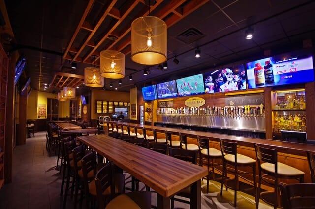 Brass Tap Beer Bar | Interior