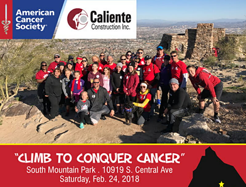Climb to Conquer Cancer   Caliente Climbs For The 26th Year