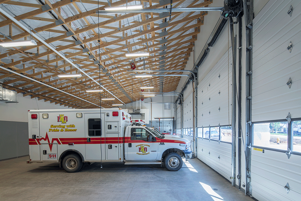 Forest Lakes Fire Station | New Build (Interior)