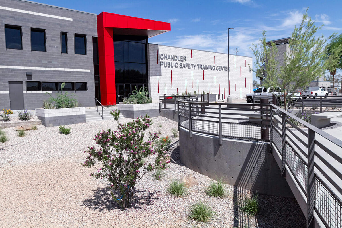 Caliente Construction Awarded Chandler Public Safety Training Center Phase Two